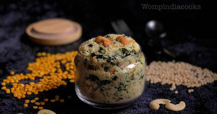 Instant Upma mix | Instant Rava upma mix | How to make instant rava upma mix at home