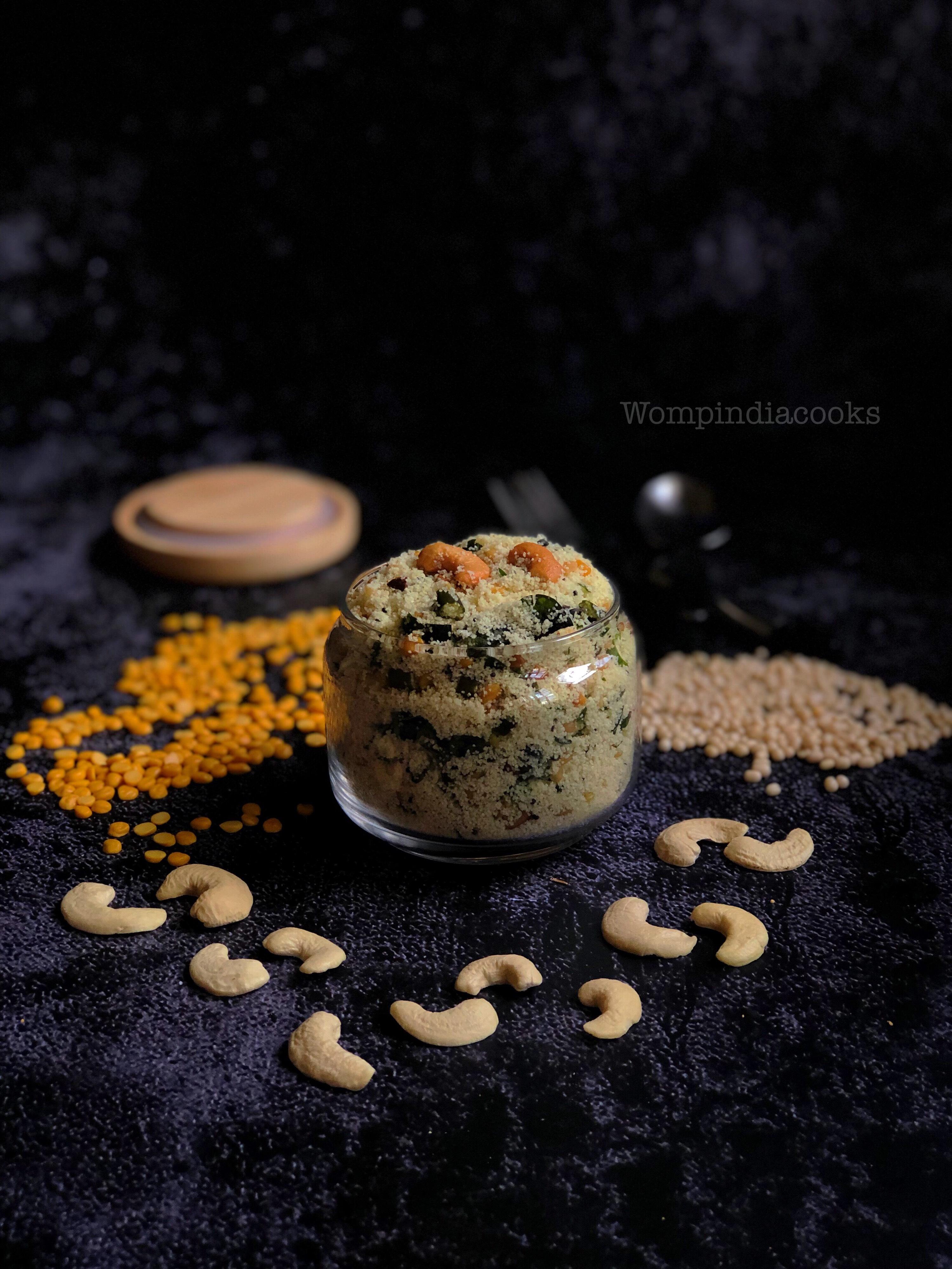 Instant Upma mix   Instant Rava upma mix   How to make instant rava upma mix at home