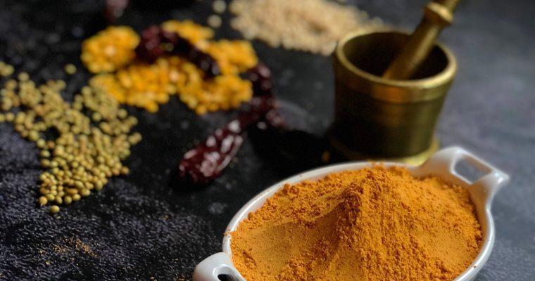 South Indian Gun powder Molaga podi  chutney pudi