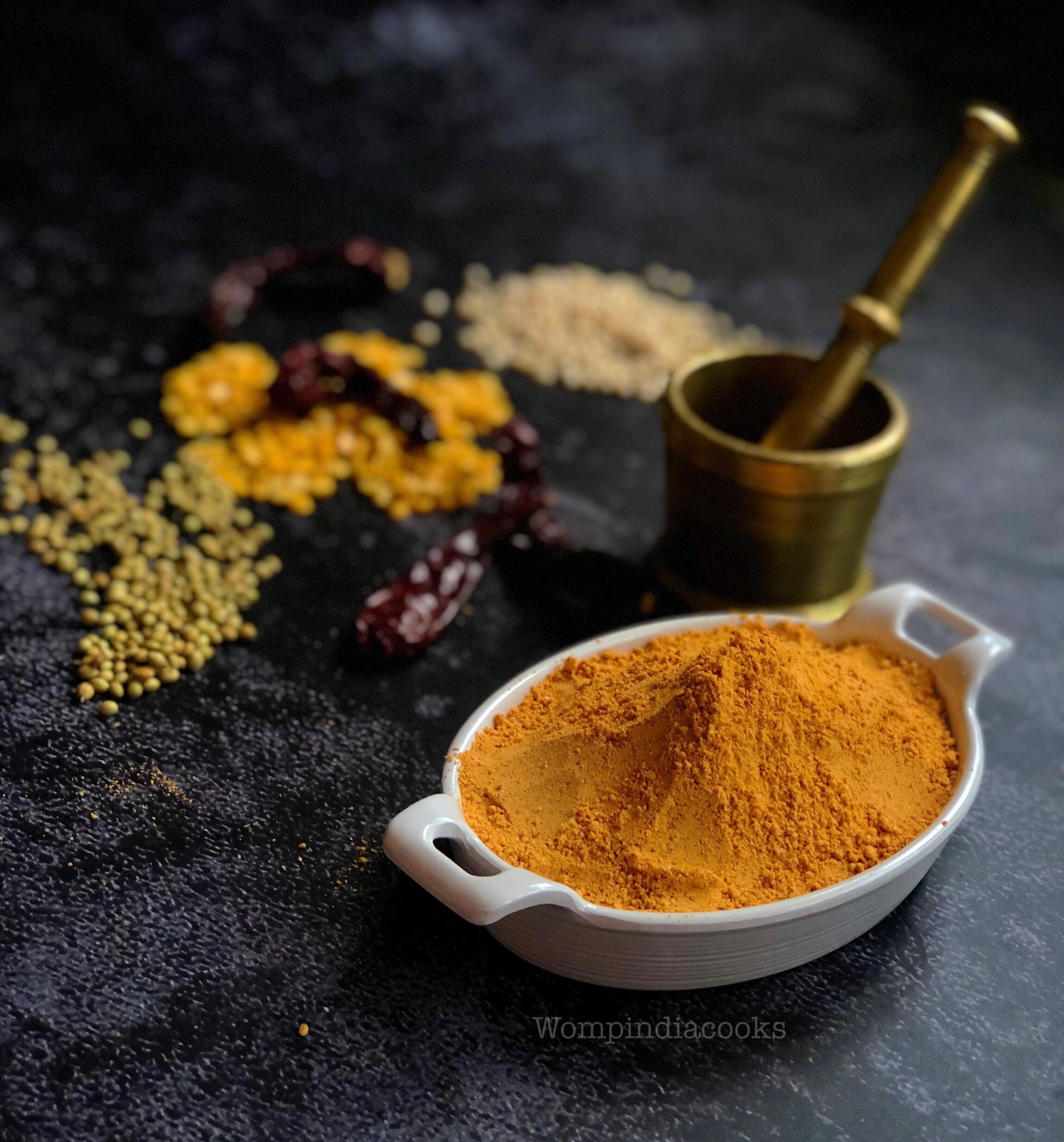 South Indian Gun powder/ Molaga podi/chutney pudi , How to make gun powder
