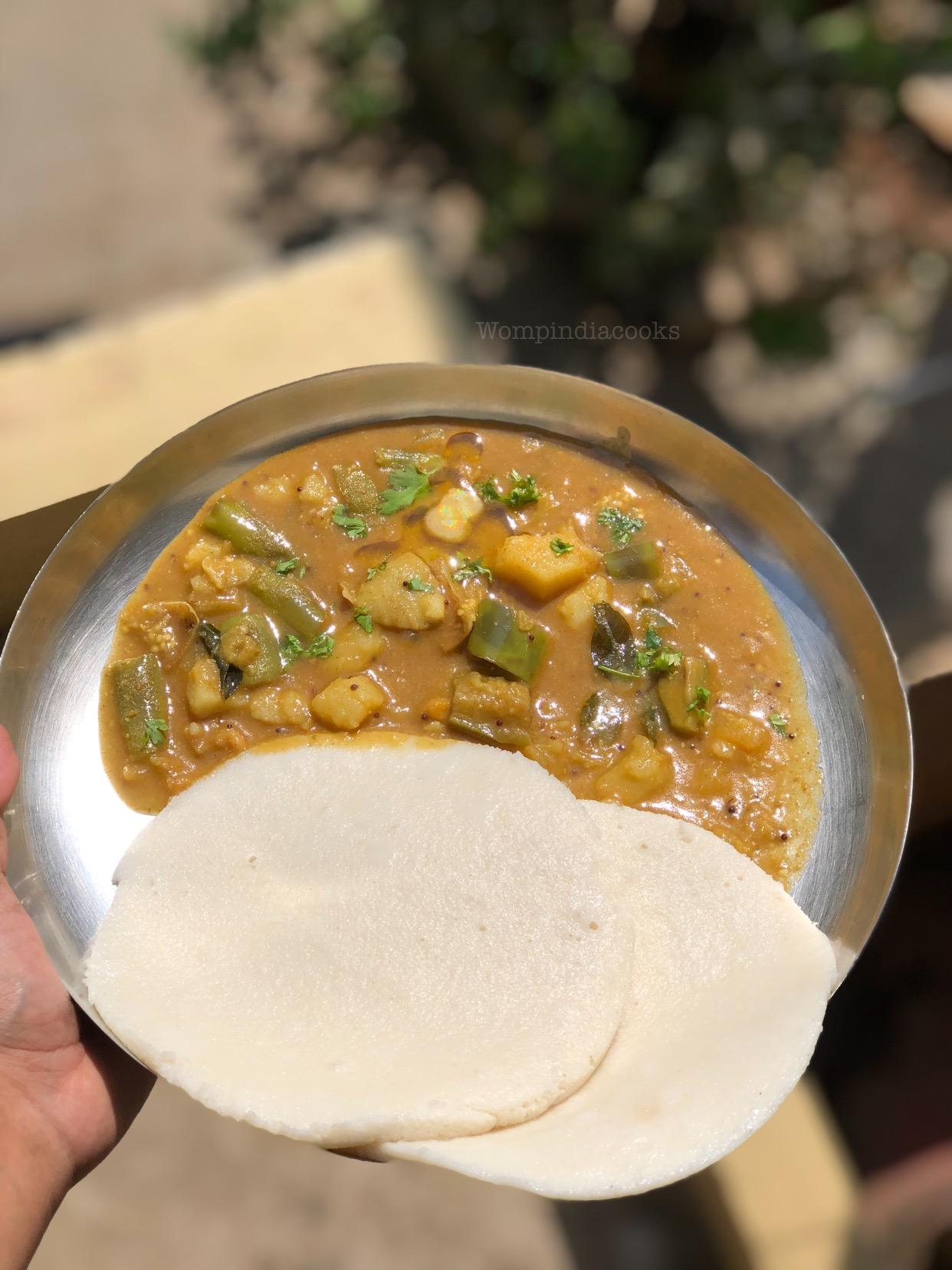 Karnataka style Badnekayi alugadde palya | Brinjal curry